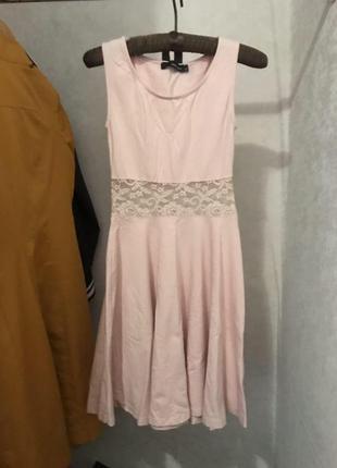 Платье розовое tally weijl
