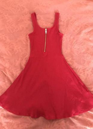 Платье красное tally weijl