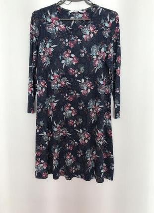 Плаття, платье с цветочным принтом