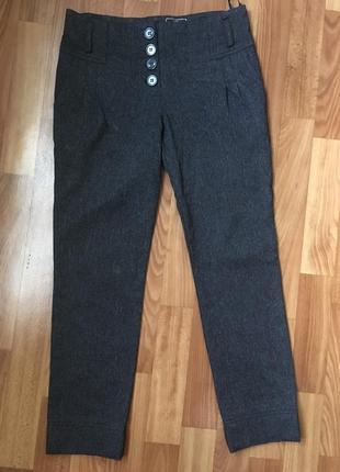 Теплые школьные брюки lexss
