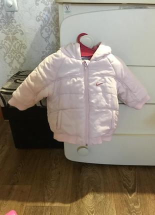 Продам куртку nike 74-80 р