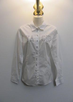 Новая коттоновая рубашка lisa campione