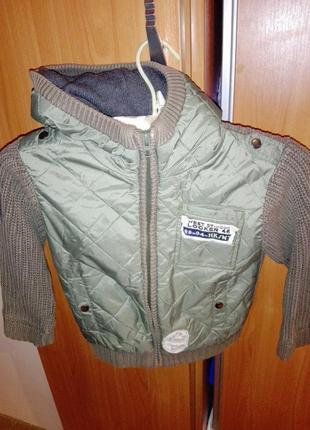 Супер курточка от некст на осень для мальчика