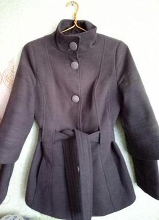 Демисезонное пальто кашемировое
