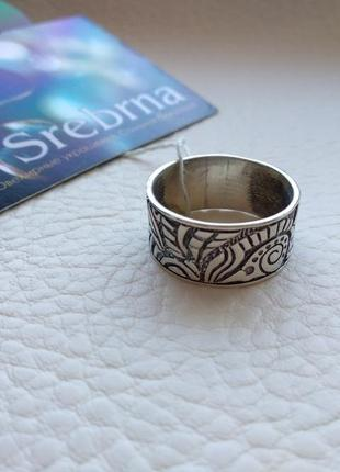 Серебряное кольцо. размер 19,5. новое