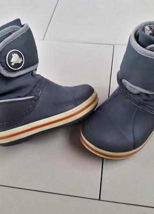 Ботинки крокс crocs 23размер