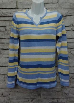 Распродажа!!! красивый свитер в полоску