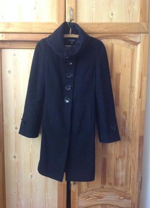 Пальто теплое демисезонное на подкладе