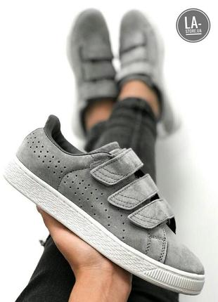 Новинка! шикарные женские кроссовки puma basket strap