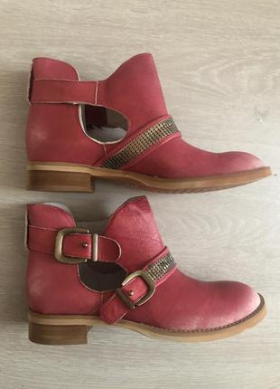 Ботинки ovye италия натуральная кожа