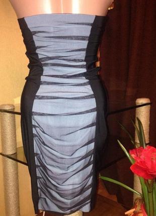Платья горизонтальными складками