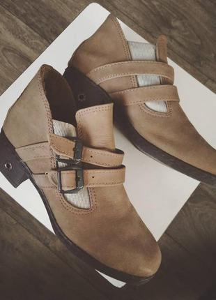 Ботинки waldlaufer ♥ (кожа)