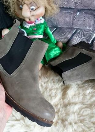 Ботинки челси из натуральной кожи bianco.