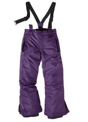 Термоштаны штаны лыжные рост 134-140 crivit