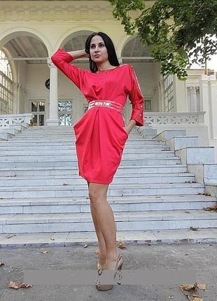 Красивый цвет и платье размер 44-46