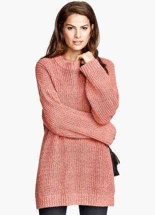 Вязаный свитер новый ichi