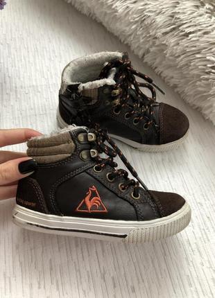 Демисезонные ботинки на мальчика 24 - размер. франция