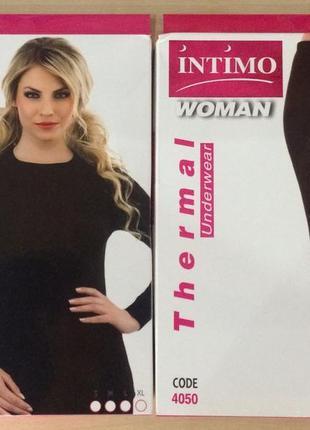 Термокомплекты -качественное термобелье турецкой фирмы intimo!