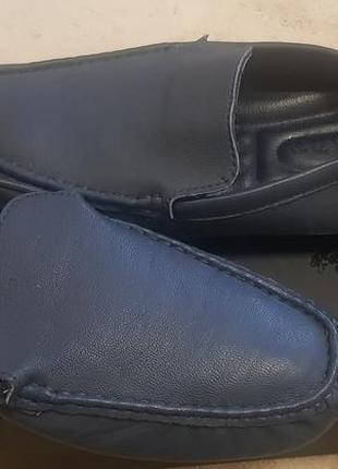 Новые кожаные мужские мокасины от prada
