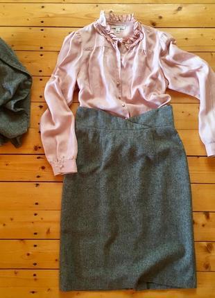Костюм (юбка, укороченный пиджак)