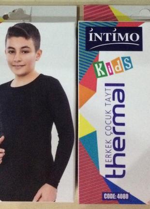 Детские термокомплекты -качественное термобелье турецкой фирмы intimo!