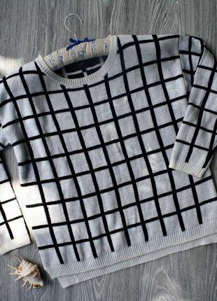 Теплый свитер р. 48-50