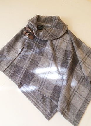 Пончо в шотландському стилі ralph lauren, 57% вовна
