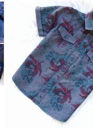 Стильная рубашка с коротким рукавом matalan