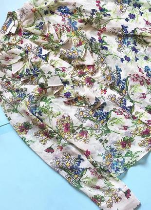 Яркая блуза р 10