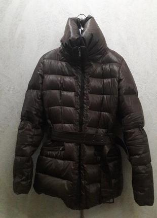 Куртка  пуховая под пояс