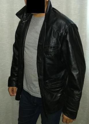 Armando куртка кожаная мужская vintage leather