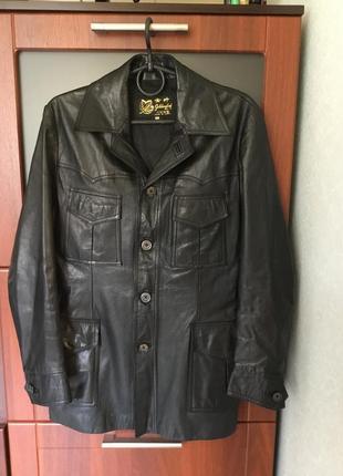 Кожаная куртка размер наш - 46 - 48
