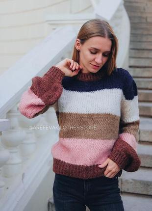 Мохеровый свитер dilvin