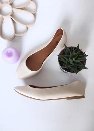 Стильные туфли  балетки от  h&m