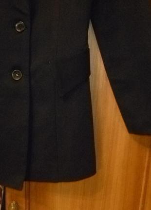 Качественный пиджак приталеный удлиненный(френч)можно как школьная форма4