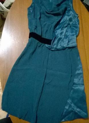 Платье нарядное комбинированное