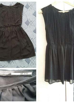 Шифоновое платье stradivarius