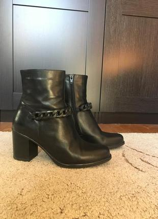 Шкіряні чобітки braska