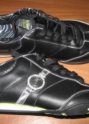 Стильные кроссовки baby phat кожаные