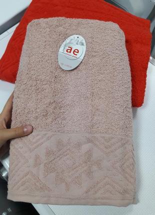 Плотное банное полотенце турция 100% хлопок 140×70 ae cotton