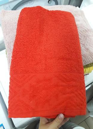 Плотное банное полотенце турция из 100% хлопка 140×70см ае cotton