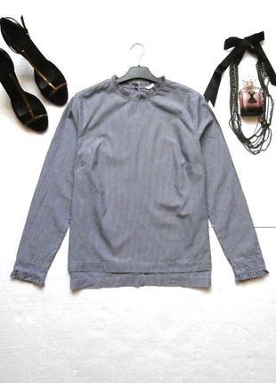 Актуальная блуза, блузка в полоску