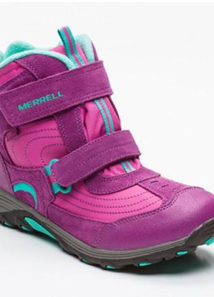 Новые. оригинал. ботинки на мембране merrell, usa 33, 35, 37 зима сапоги/полусапожки