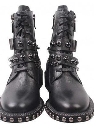 Ботинки демисезонные  в стиле гранж софт  reuchll натуральная кожа р. 36/37/38