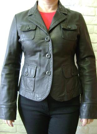 Кожаная куртка немецкого бренда street one.