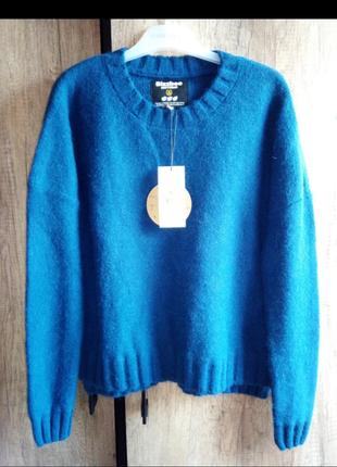 Теплый свитер bizzbee с ангорой