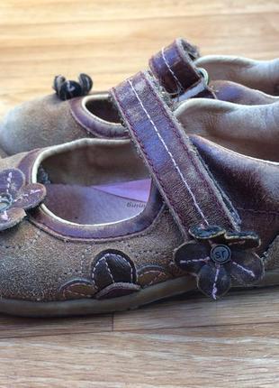 Туфли кожаные ортопедические для двора stride rite 4a2972247c36e