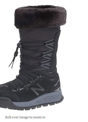 Зимние спортивные сапоги new balance