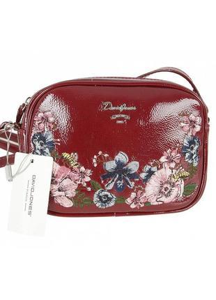 Женская сумка из экокожи david jones cm4081