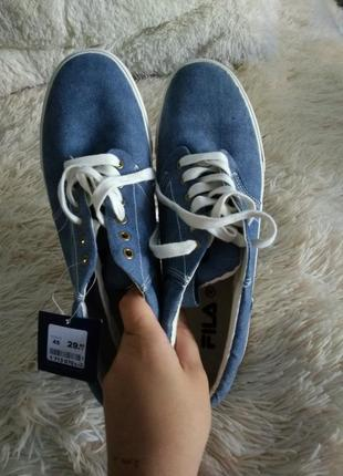 Кеды джинс fila